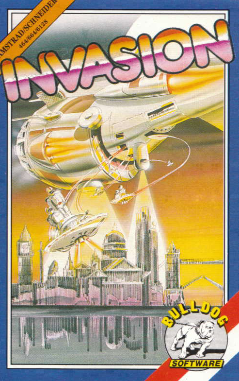 cover of Invasion  provided by GameBase CPC