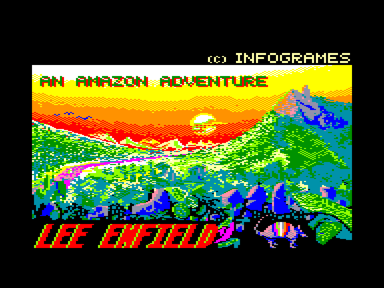 screenshot of the Amstrad CPC game 1789