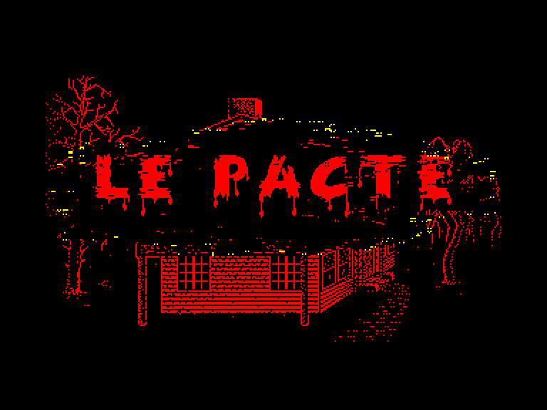 screenshot of the Amstrad CPC game Pacte (le)