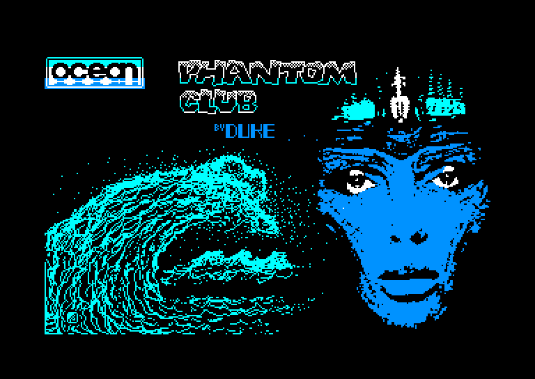 screenshot of the Amstrad CPC game Phantom club