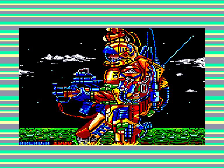 screenshot du jeu Amstrad CPC Poder oscuro (el)