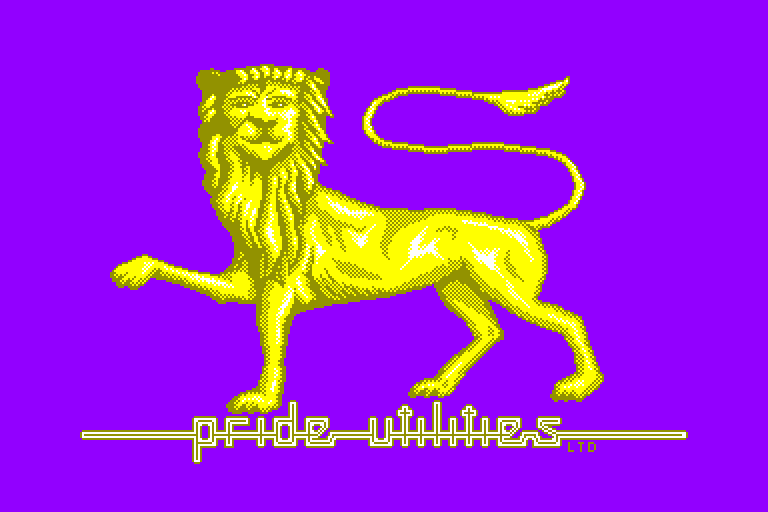 screenshot of the Amstrad CPC game Pride Picture Show (the)