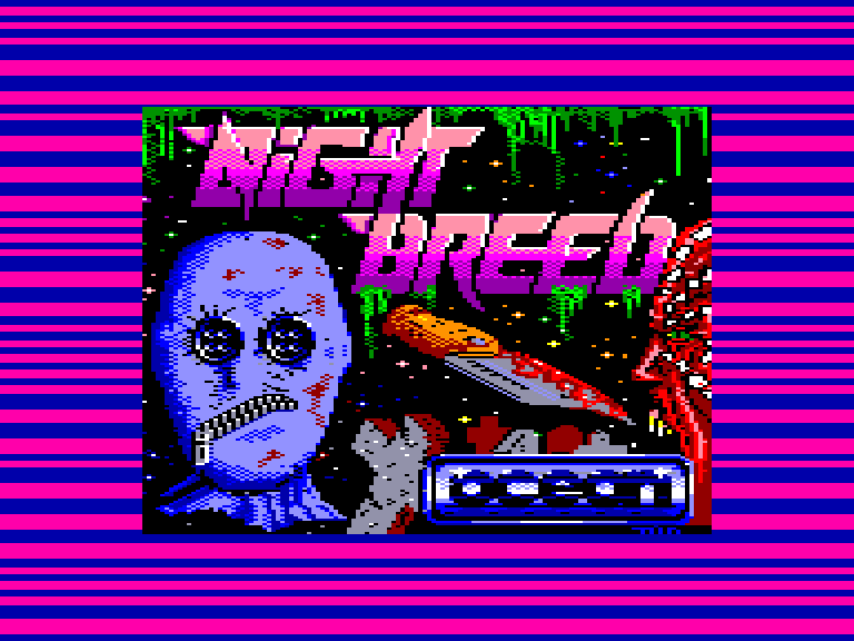 screenshot du jeu Amstrad CPC Nightbreed - The Action Game