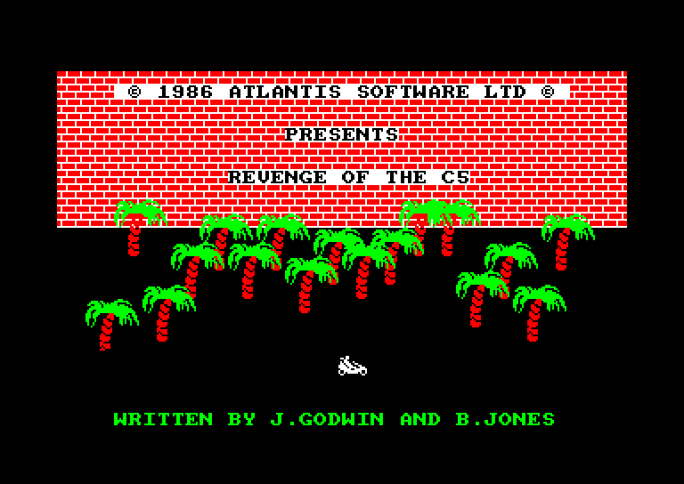 screenshot du jeu Amstrad CPC Revenge of the c5