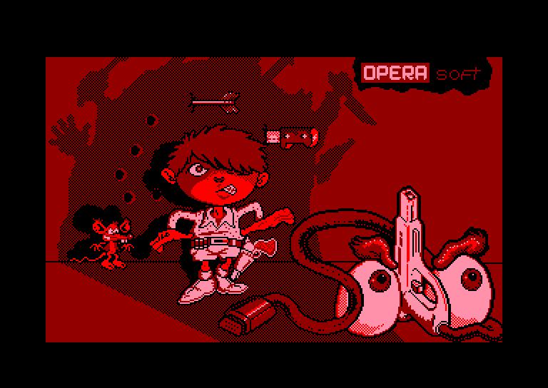 screenshot du jeu Amstrad CPC Solo