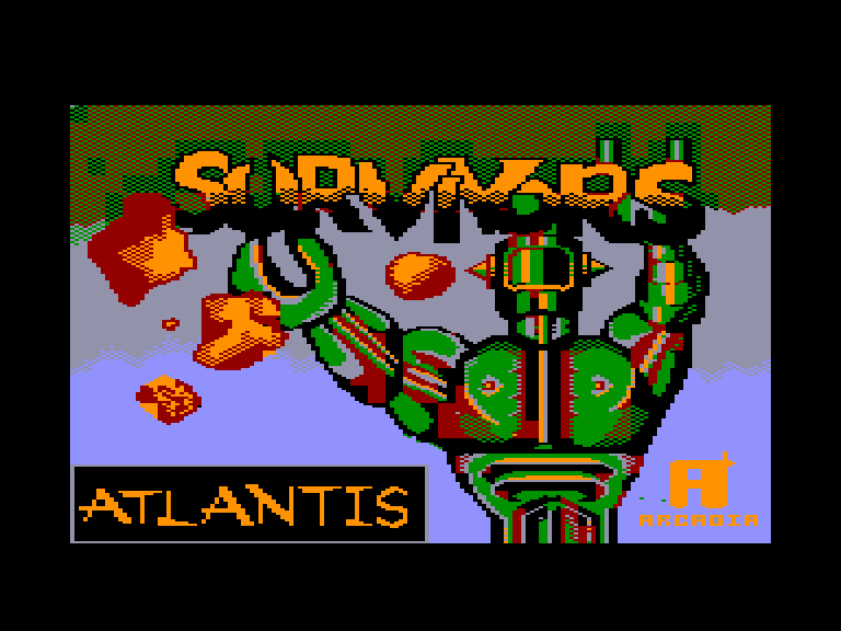 screenshot of the Amstrad CPC game Survivors (the)