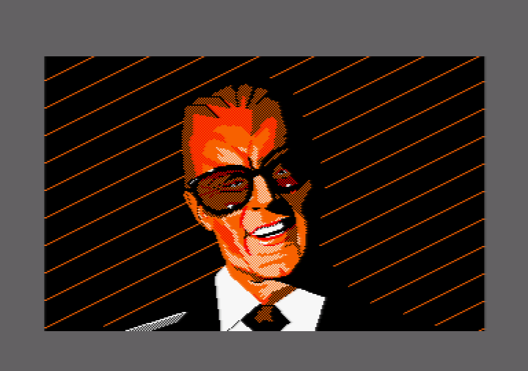 Max by Jill Lawson, mode 1 picture on an Amstrad CPC