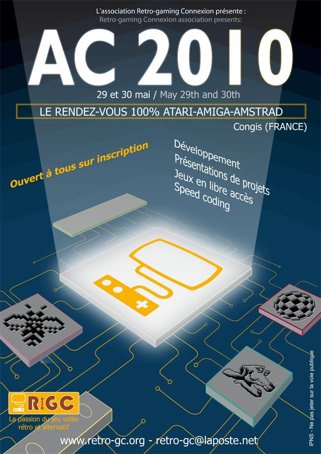 affiche du meeting AC2010