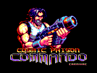 Cosmic Prison Commando screenshot