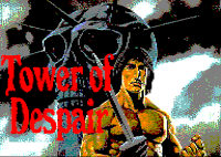 Tower of Despair by MiguelSky (ESP Soft) for Amstrad CPC, text adventure game